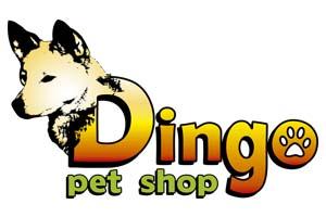 logotipo dingo pet shop